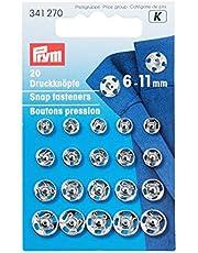 Sew-On Snap Fastener 6-11mm N/P