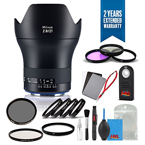 Zeiss Milvus 21mm f/2.8 ZE Lens for Canon EF - (2096-549) for sale  Delivered anywhere in USA
