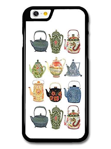 Teapots Green Tea Vintage Minimalist Design case for iPhone 6 6S