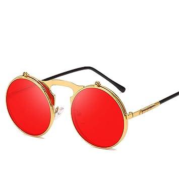 DURIAN MANGO Gafas de Sol con Montura Redonda ...
