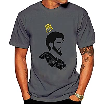 Men's J. Cole Tee shirt M Gray