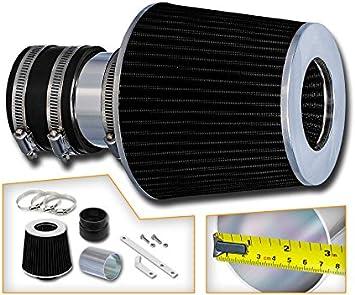 "3/"" BLACK Short Ram Air Intake Kit Filter For 94-96 Beretta//Corsica 3.1L V6"