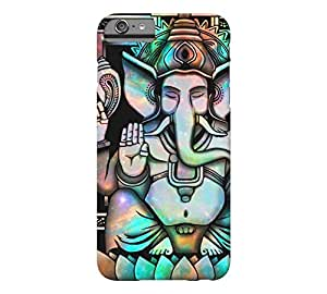 Cosmic Ganesh Bright iPhone 6 Plus Black Barely There Phone Case