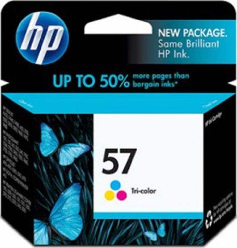 HP 57 Tri-color Ink Cartridge (C6657AN) for HP Deskjet 450 5550 5650 5850 9650 9680 HP Officejet 4215 6000 6110 6500 7000 HP Photosmart 7260 7350 7450 7550 7755 7760 7762 7960 HP PSC 1210 1315