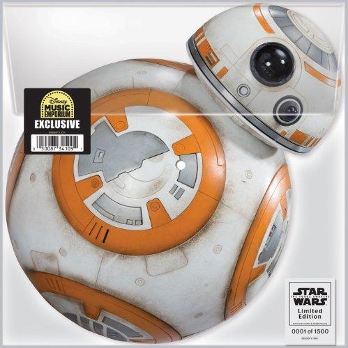 Price comparison product image Wondercon 2016 Star Wars BB-8 FORCE AWAKENS Vinyl Record Disc LE1500