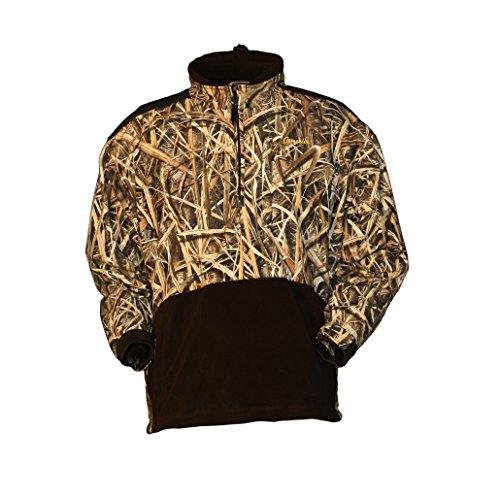 Gamehide Marsh Lord Waterfowl Hunting Pullover (Mossy Oak Shadow Grass Blades, X-Large)