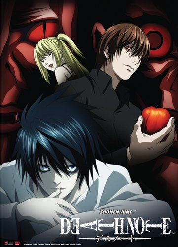 Great Eastern Entertainment Death Note Mind Game Wall Scroll, 33 by 44-Inch