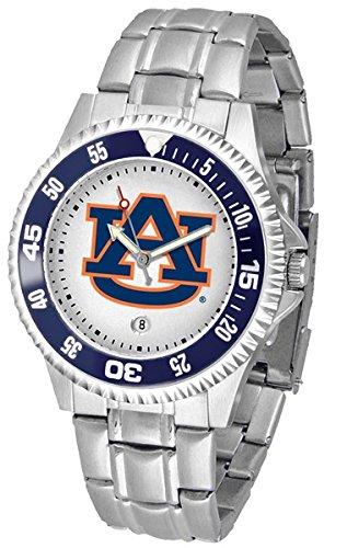 Auburn Tigers Competitor Steel Men's Watch (Steel Tigers Competitor Watch)