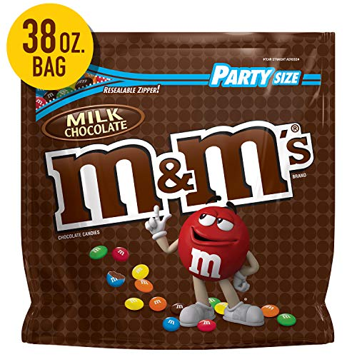 M And N Party Store (M&M'S Milk Chocolate Candy Party Size 38-Ounce)