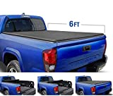 Tyger Auto T1 Roll Up Truck Tonneau Cover TG-BC1T9037 Works with 2005-2015 Toyota Tacoma | Fleetside 6' Bed | for Models with or Without The Deckrail System