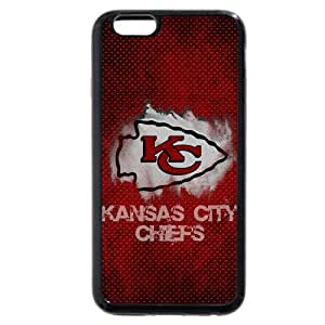 "Onelee Customized NFL Series Case for iPhone 6 4.7"", NFL Team Kansas City Chiefs Logo iPhone 6 4.7"