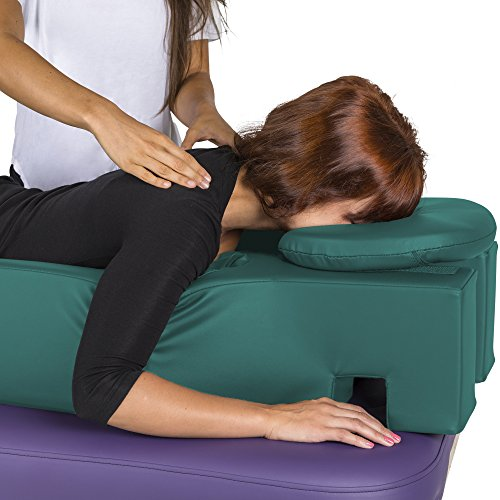 EARTHLITE Pregnancy Massage Cushion & Headrest - Full Body Pregnancy Bolster / Ideal After Breast Surgery & Lower Back Pain by Earthlite (Image #4)