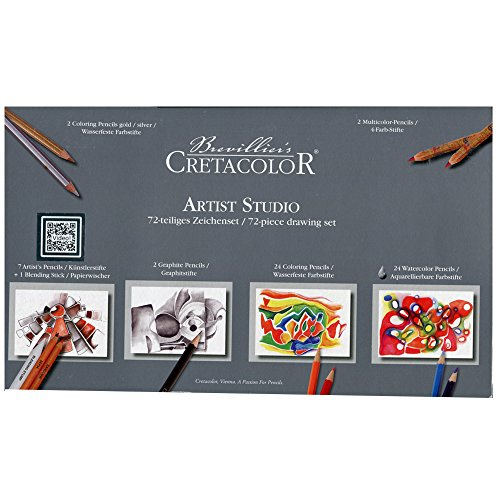 Cretacolor Artist Studio Set 72 Pieces by Cretacolor