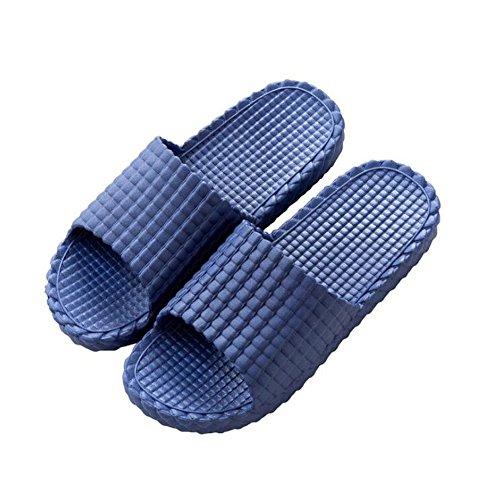 blue4 Temptation per di piscina Black donna lino spiaggia da di Nizza Pantofole design da UaFFOq
