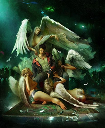 Qinuo 14x17 inch DmC Devil May Cry Silk Poster 4GSC-A56