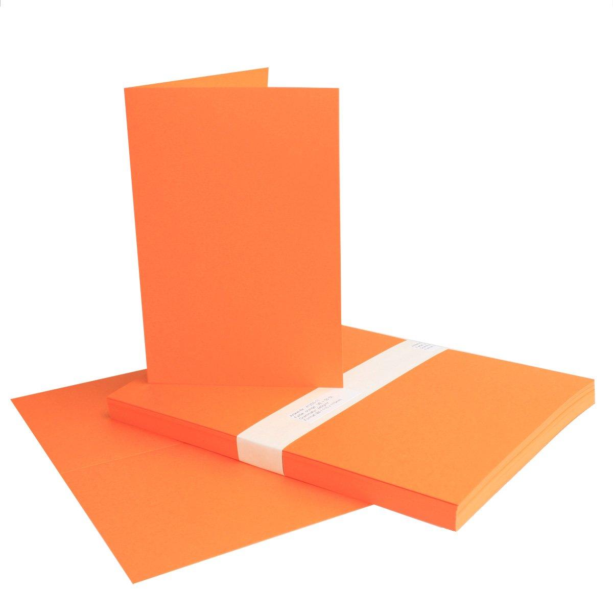 150x Falt-Karten DIN A6 Blanko Doppel-Karten Doppel-Karten Doppel-Karten in Vanille -10,5 x 14,8 cm   Premium Qualität   FarbenFroh® B079TVX4QW | Erste Klasse in seiner Klasse  2486fd