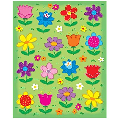 Carson Dellosa | Spring Flowers Stickers | 96ct: Carson-Dellosa Publishing: Office Products