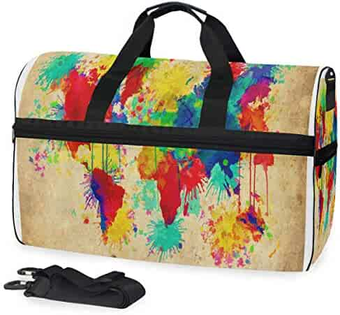 5df1fde36c0c Shopping All agree or GotApparel - Golds - Sports Duffels - Gym Bags ...