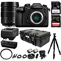 Panasonic Lumix DC-GH5 Mirrorless Camera Filmmaking Kit w/ H-ES12060 Optical I.S., 12-60mm Professional Bundle