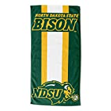 The Northwest Company Officially Licensed NCAA North Dakota State University Zone Read Beach Towel, 30'' x 60'', Green