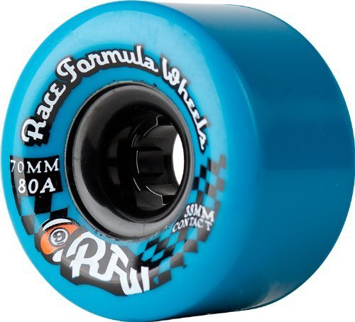 Sector 9 Race Formula Center-Set Skateboard Wheel, Blue, 70mm 80A by Sector - Centerset Blue