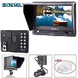 "VILTROX DC-70EX 7"" HD LCD Monitor 1024x600 IPS Screen Clip-on HDMI/SDI/AV Input Output Camera Video Display for DSLR camera Camcorder BMCC"