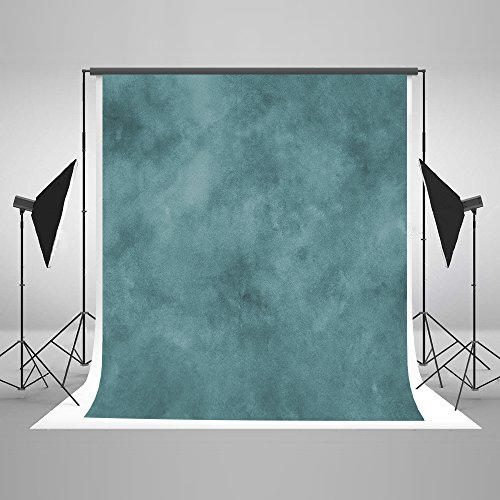 Kate 6.5ft(W) x10ft(H) Texture Portrait Photography Backdrops for Photographers Microfiber Blue Abstract Old Master Photo Backdrop