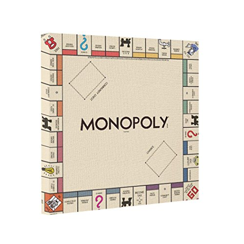 picture of monopoly game board - 7