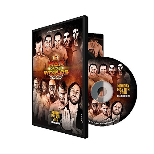 Official ROH & NJPW - Ring of Honor War of the Worlds - Dearborn, MI 2016 Event DVD