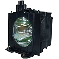 AuraBeam Panasonic ET-LAD57W Projector Replacement Lamp with Housing
