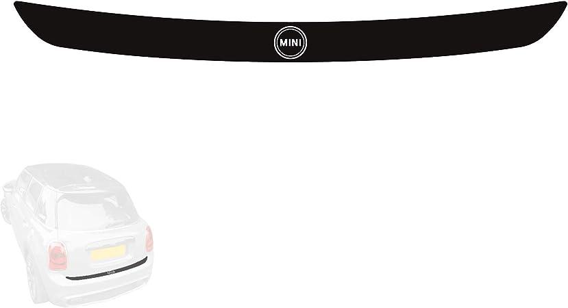 Paileco Rear Bumper Trunk Load Edge Protector Guard Decal Sticker Graphics for F55 F56 R55 Black Mini Flag, Vinyl