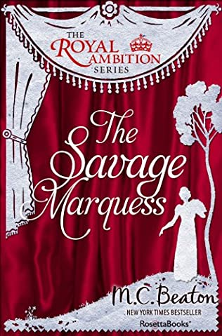 book cover of The Savage Marquess