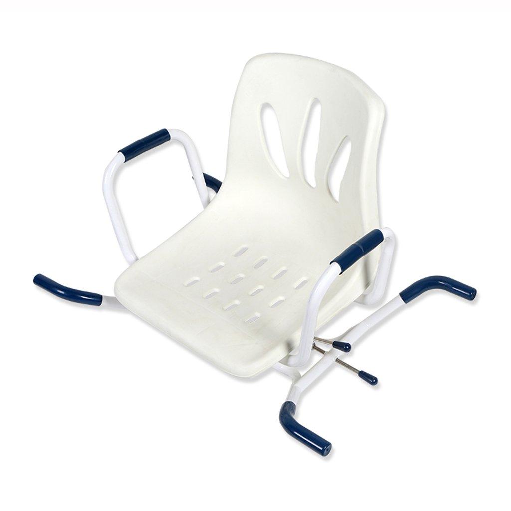 バックサポートとアームレストバスチェアバスルーム椅子バスルーム障害者妊婦 B07DMY2FJ5