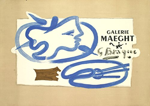Georges Braque Galerie Maeght Lithograph