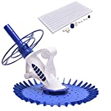 Blue ABS Swimming Pool Vacuum Cleaner Set Smart Design w/ Hose 32.8FT