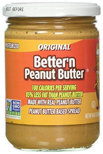 Better Butter - Better'n Peanut Butter Original 16 Ounce (Pack of 6)