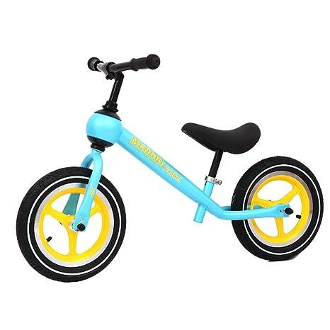 Steaean Moto de Equilibrio para niños Scooter de Equilibrio para niños de Dos Ruedas de 2