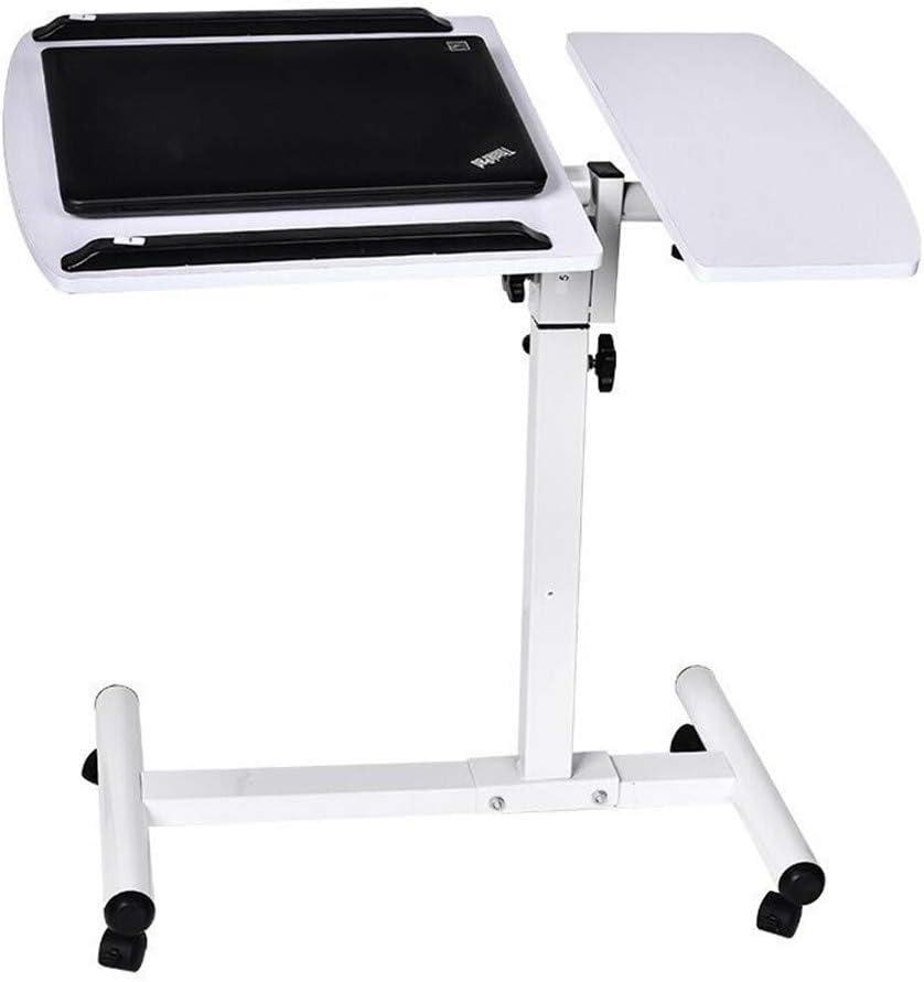 SHENGFU モバイルノートブック表パソコンデスクベッドサイドソファベッド学習デスク折りたたみラップトップテーブル調節可能なテーブル (Color : Brown)