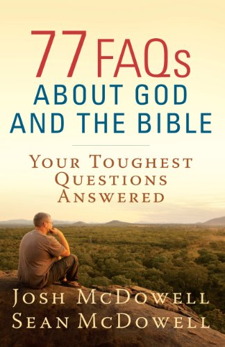 Cheap price FAQs About God and the Bible (The McDowell Apologetics Library)