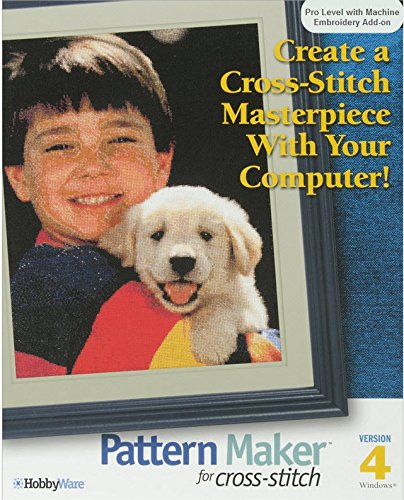 Pattern Maker for Cross-stitch Pro Version with Machine Embroidery (Cross Stitch Software)