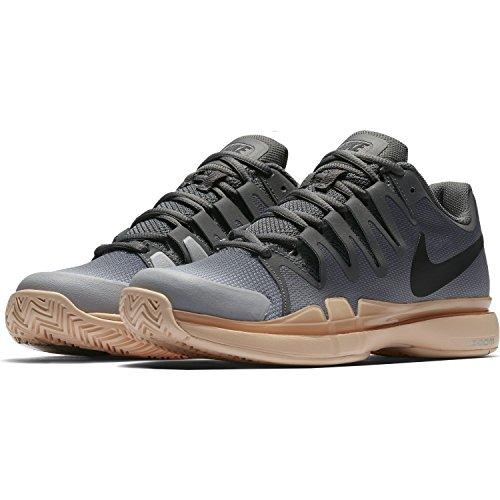 Nike Basketbalschoenen Basketbal Donkergrijs / Zwart-oranje Quartz