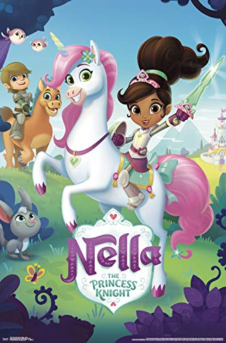 Trends International Nella The Princess Knight-Group Clip Bundle Wall Poster 22.375