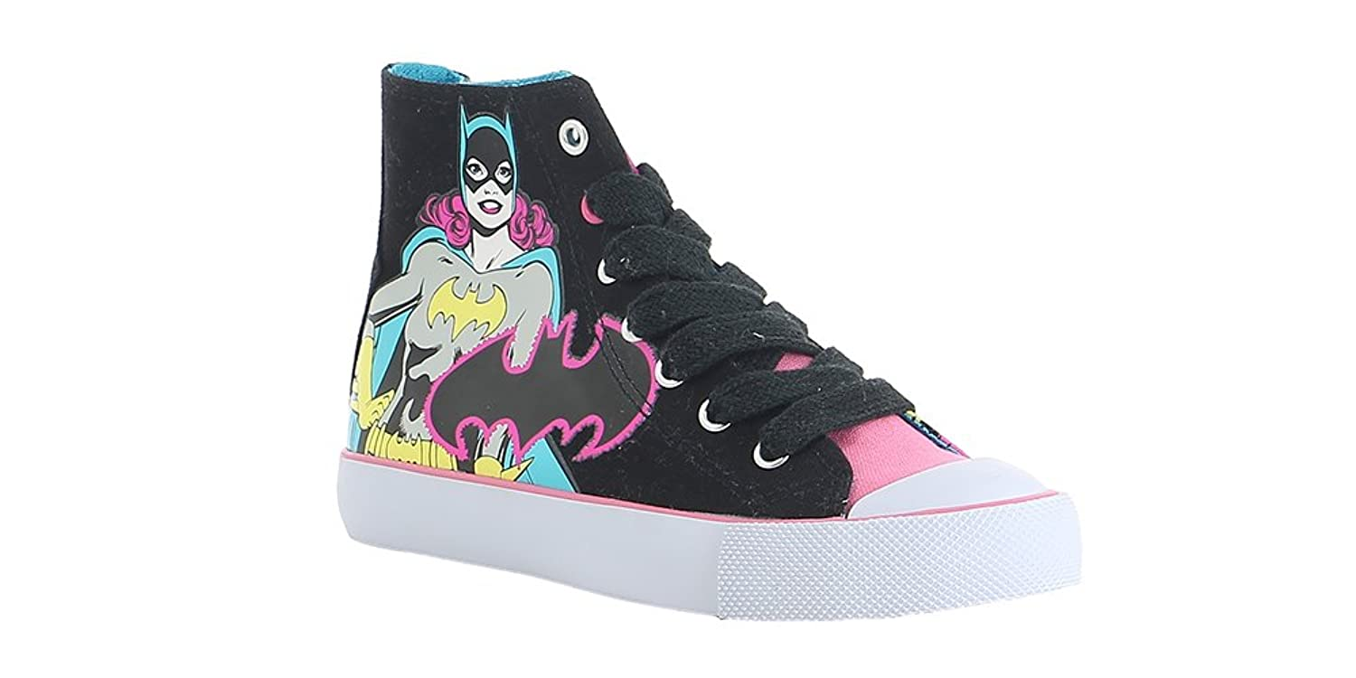 DC Comics Batgirl Women's High-Top Sneaker 8 B(M) US Black