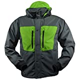 Rivers West Kokanee Jacket (Charcoal/Green, X-Large)
