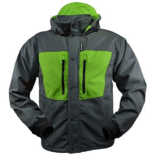 Rivers West Kokanee Jacket (Charcoal/Green, X-Large)
