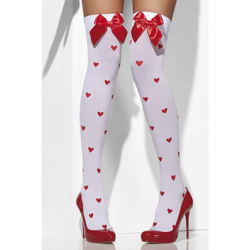 81dc35a6b Fever Women s Opaque Hold-Ups with Bows