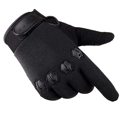 ZTY66✿ Winter Sports Gloves,Touchscreen Warm Windproof Thermal Gloves Outdoor Cycling Driving Running Skiing Gloves for Men Women (Black)