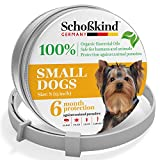 Dog Flea Treatment Collar - Flea and Tick Collar for Dogs - Made for Germany - 100% Safe & Eco-Friendly – Based on Natural Oils - Flea and Tick Prevention - All Sizes Pets - 6-Month Protection – Waterproof Dog Flea Collar