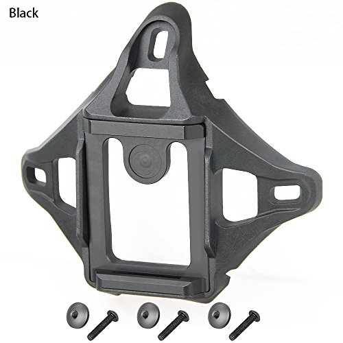 Canis Latran Tactical 4-Hole Skeleton NVG Mount Shroud for ACH / MICH / OPS-Core FAST / Crye AirFrame Helmet by Canis Latran