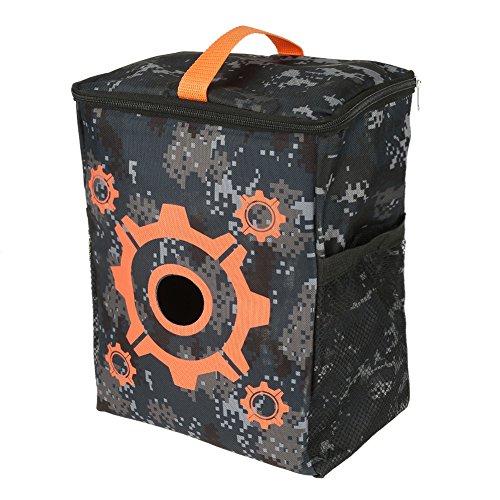 Purpose Bag - GLOGLOW Target Pouch, Portable Purpose Target Pouch Storage Carry Equipment Bag for Nerf Gun N-Strike Elite/Mega / Rival Series